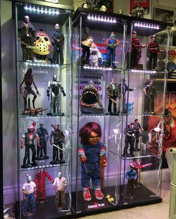 25 Cool Ways To Action Figure Display | HomeMydesign