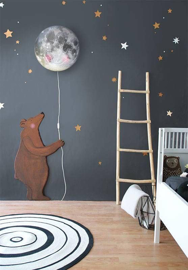 Childrens Wall Lamp Shades : 10 Cute And Adorable Wall Lamps For Kids Room Home Design And Interior
