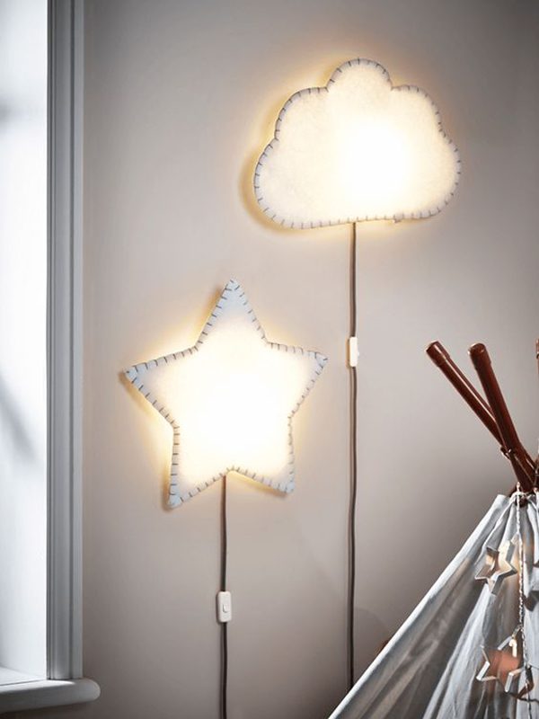 10 Cute And Adorable Wall Lamps For Kids Room  Home Design And
