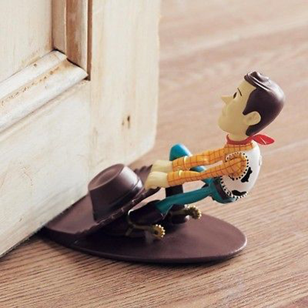 22 creative doorstop ideas with funny character home for Door stop idea