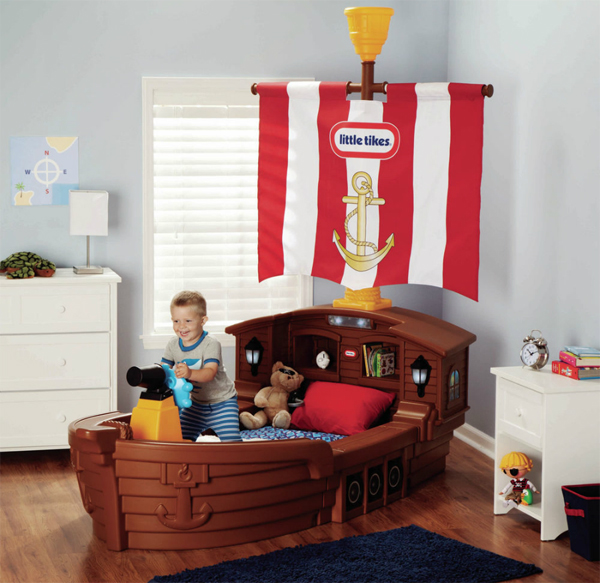 20 Pirate Themed Bedroom For Your Kids Adventure
