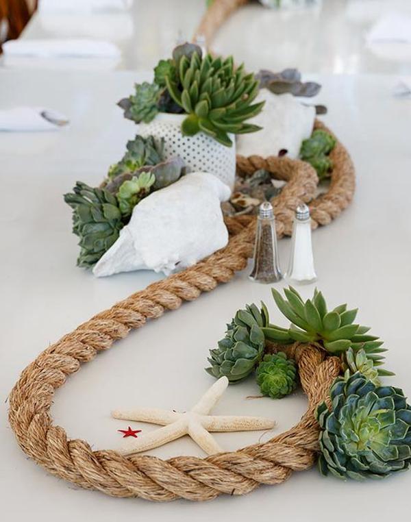 & beach-wedding-rope-table-setting-ideas