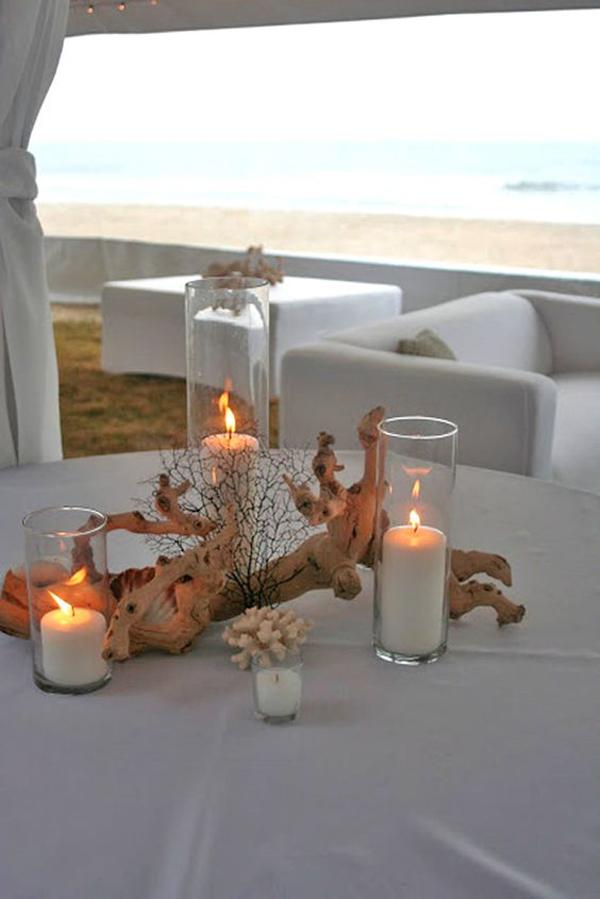 20 Beautiful Decoration Ideas For Beach Wedding Theme ...