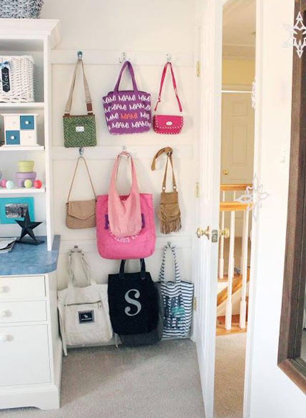 Itu0027s The Most Practical Way To Hang Your Handbag.