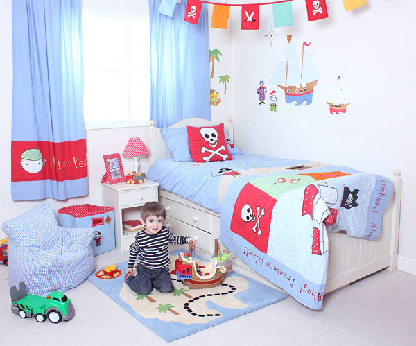 20 Pirate Themed Bedroom For Your Kids Adventure | Home Design And ...