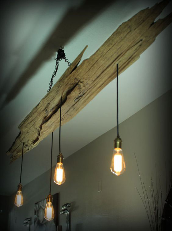 15 Natural Diy Wood Chandelier Ideas Home Design And