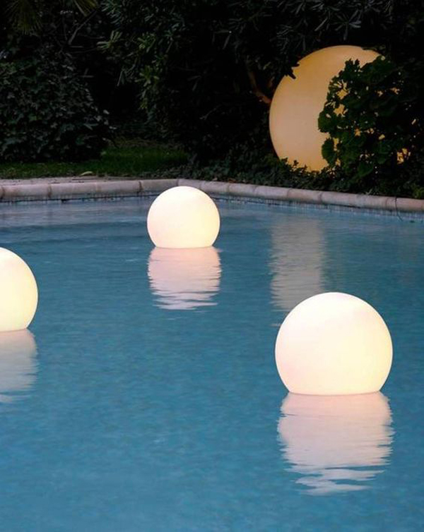 15 Amazing Outdoor Pool With Lighting Ideas Home Design