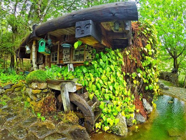 La casa del hobbit real la casa de stuart grant steemit - La casa de los hobbits ...