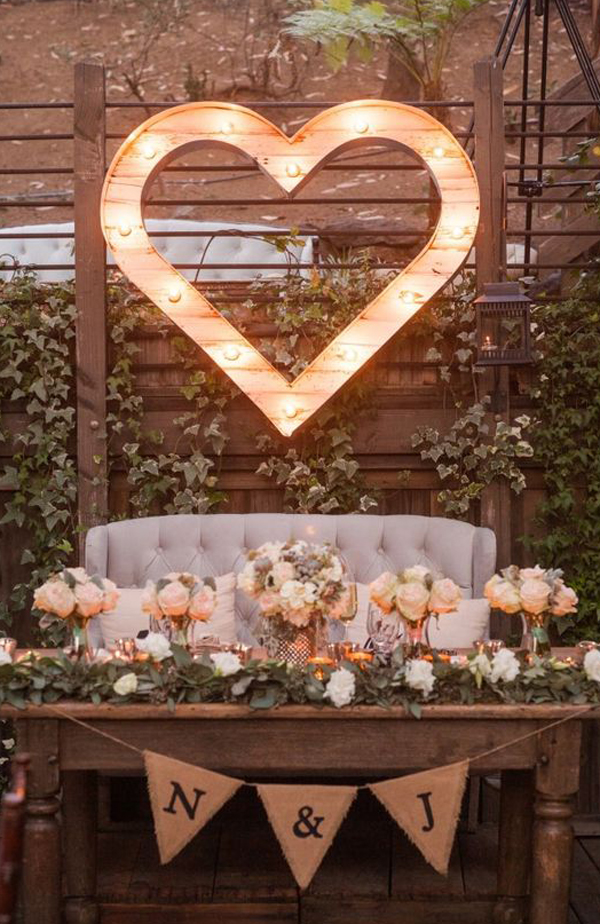22 Rustic Country Wedding Table Decorations | Home Design And Interior