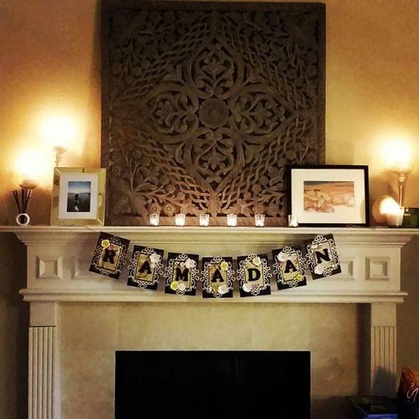 Modern Ramadan Fireplace Design