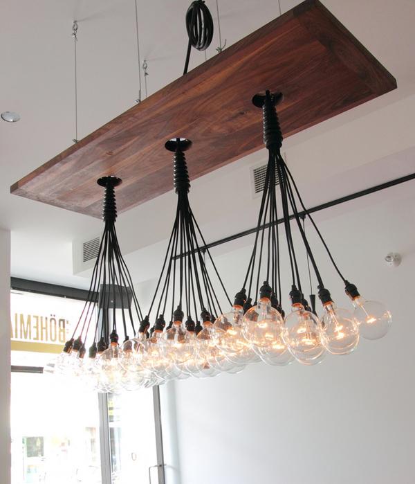 Diy Industrial Lighting Chandelier