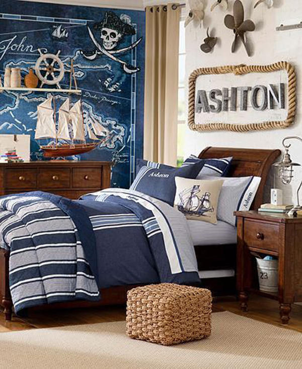 20 Pirate Themed Bedroom For Your Kids Adventure Home
