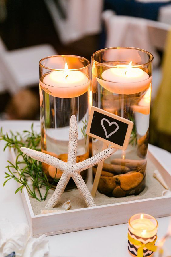 Starfish Beach Wedding Centerpiece Decor Home Design And Interior