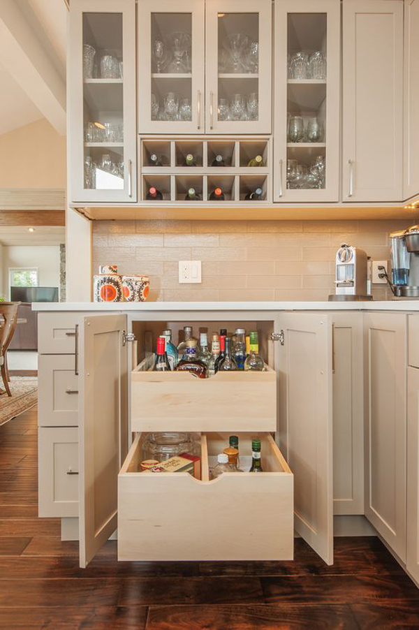 Galerry interior design ideas for kitchen and living room