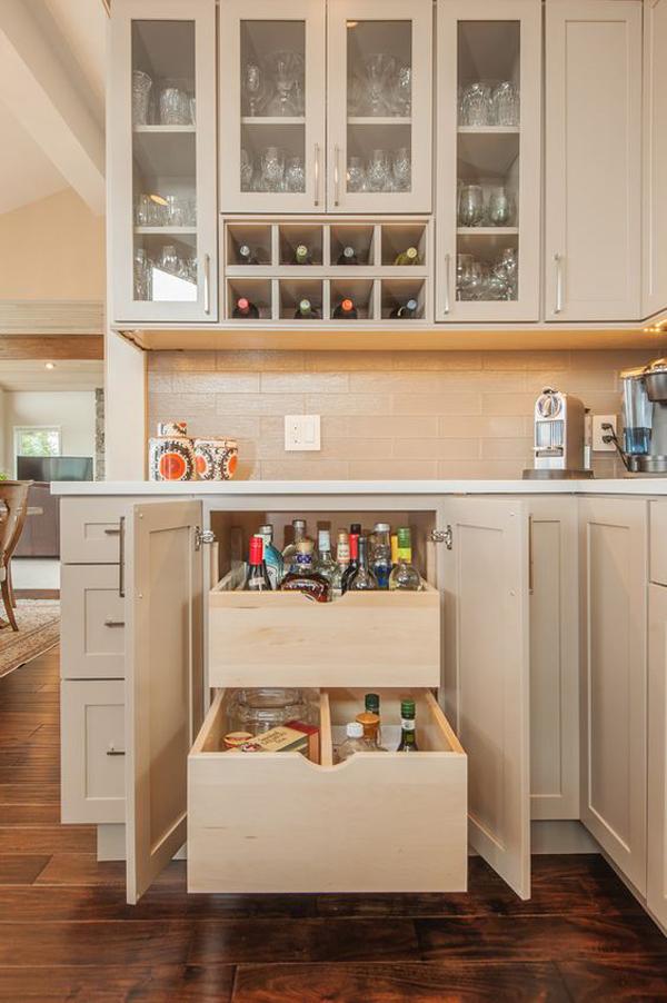 15 Modern Wine Storage Ideas In The Kitchen | Home Design And Interior
