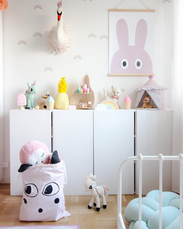 15 Simple DIY Ikea IVAR Cabinet For Kids Room Home  : cute diy ikea ivar hacks for kids from homemydesign.com size 600 x 749 jpeg 229kB