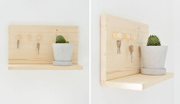 25 Unique And Practical Wall Key Holders | Home Design And