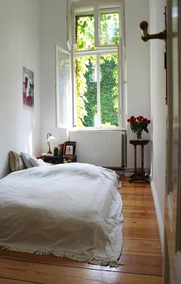 cozy-small-bedroom-with-large-window | Home Design And Interior