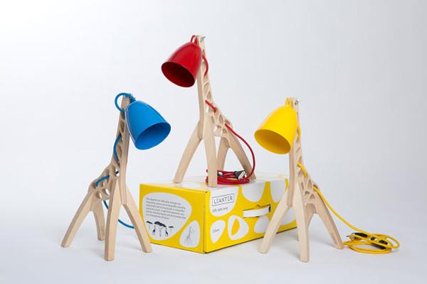 Giraffe Shaped Desk Lamps For Kids Room Home Design And