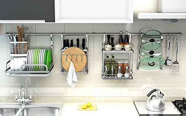 20 Modern Dish Drying Racks For Kitchen Organizer Home Design And