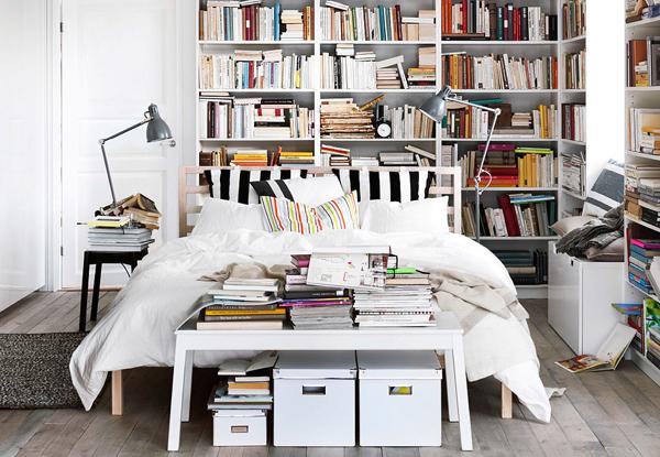 Ikea Bedroom Library Ideas