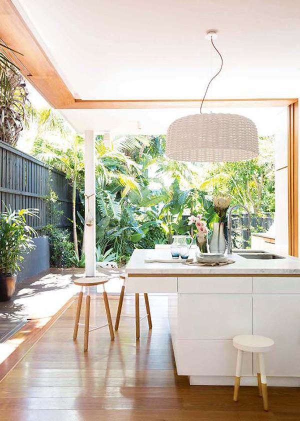Tropical Kitchen Homemydesign