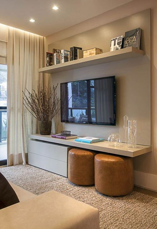 20 Modern And Minimalist TV Wall Decor Ideas | Home Design And ...