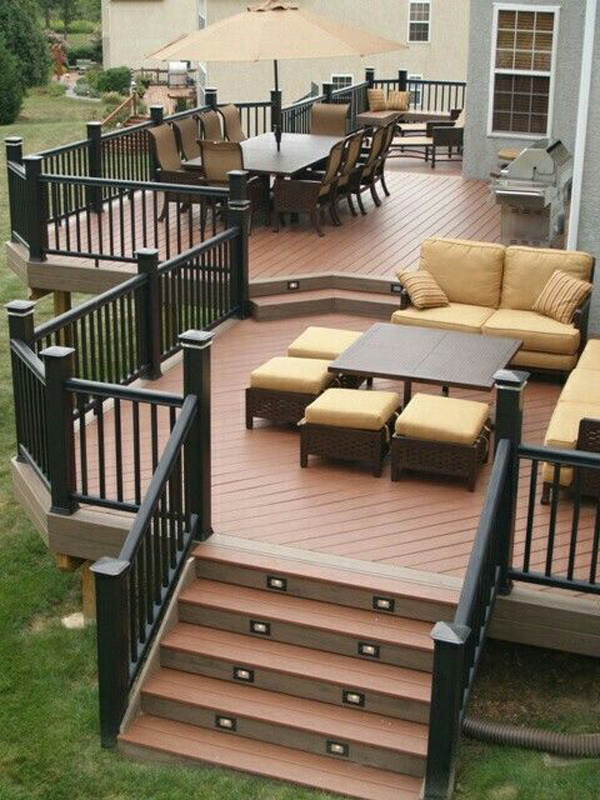 20 Cozy Backyard Deck Ideas For Your Relaxing | HomeMydesign