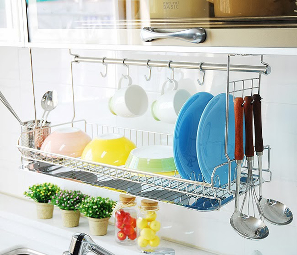 20 Modern Dish Drying Racks For Kitchen Organizer & 20 Modern Dish Drying Racks For Kitchen Organizer | Home Design And ...