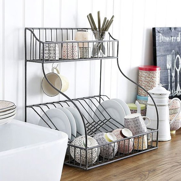 20 modern dish drying racks for kitchen organizer home