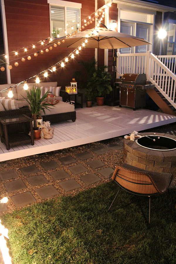 20 Cozy Backyard Deck Ideas For Your Relaxing | HomeMydesign on Small Deck Ideas For Small Backyards id=52945