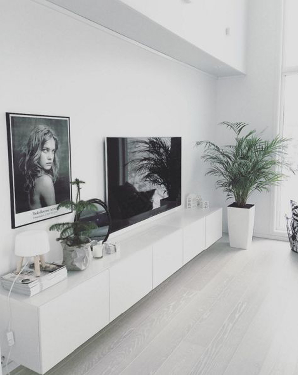 20 Modern And Minimalist TV Wall Decor Ideas   Home Design ...