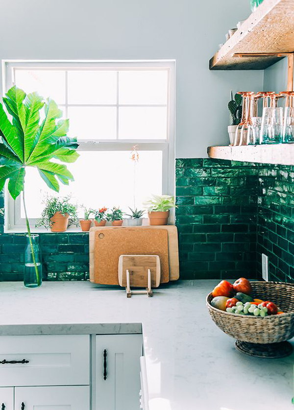 15 Cool Kitchen Ideas With Tropical Feel | HomeMydesign