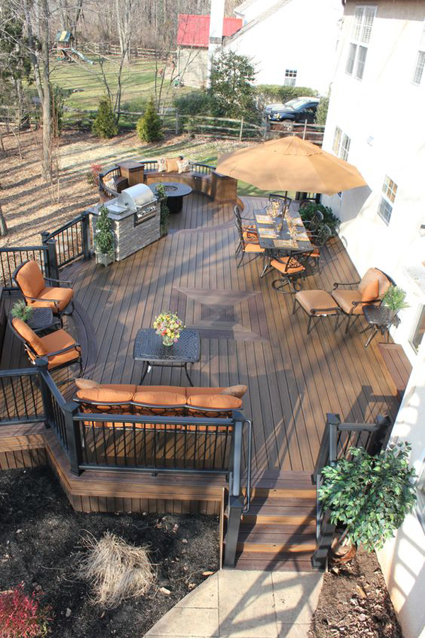 20 Cozy Home Interior Design Ideas: 20 Cozy Backyard Deck Ideas For Your Relaxing