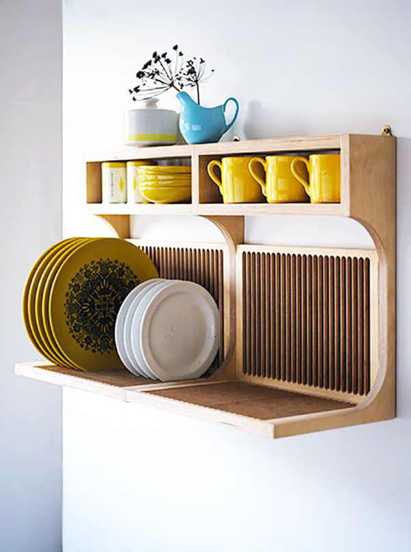 20 Modern Dish Drying Racks For Kitchen Organizer Home