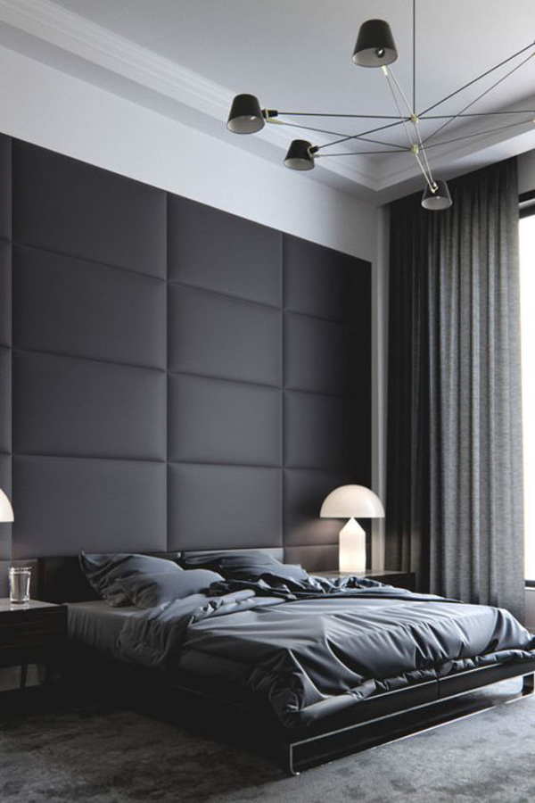 20 Masculine Bedroom Ideas To Bring Your Style | HomeMydesign
