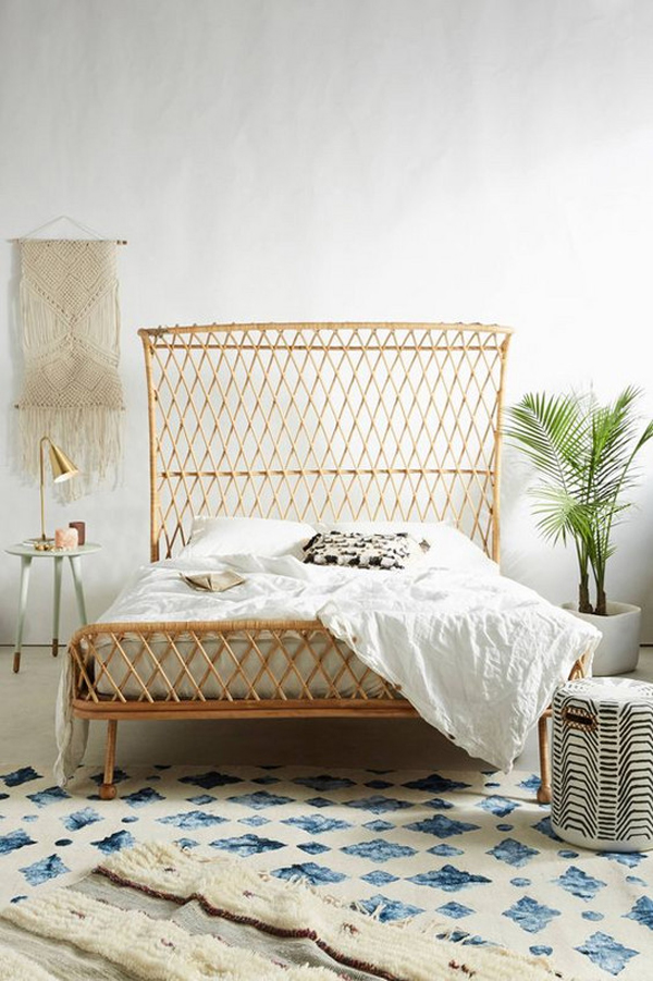 15 Artistic Rattan Headboards For Your Every Bedroom