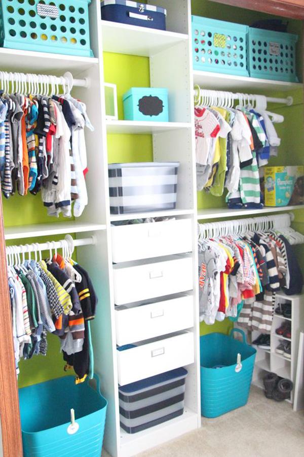 10 Smart And Practical Nursery Closet Ideas Home Design