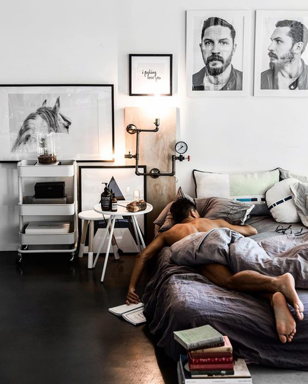 Simple Masculine Bedroom: 20 Masculine Bedroom Ideas To Bring Your Style