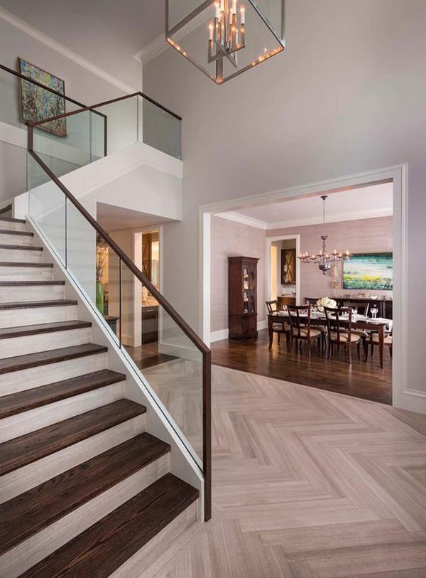 20 Modern Glass Stair Railing Ideas   Home Design And Interior