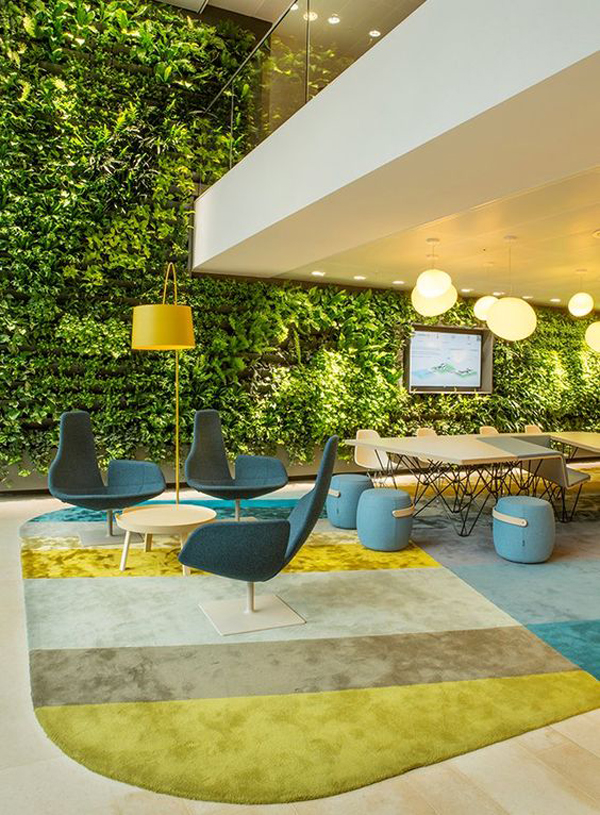 fresh green wall for office interiors home design and interior rh homemydesign com office interiors palmers green greenery office interiors calgary