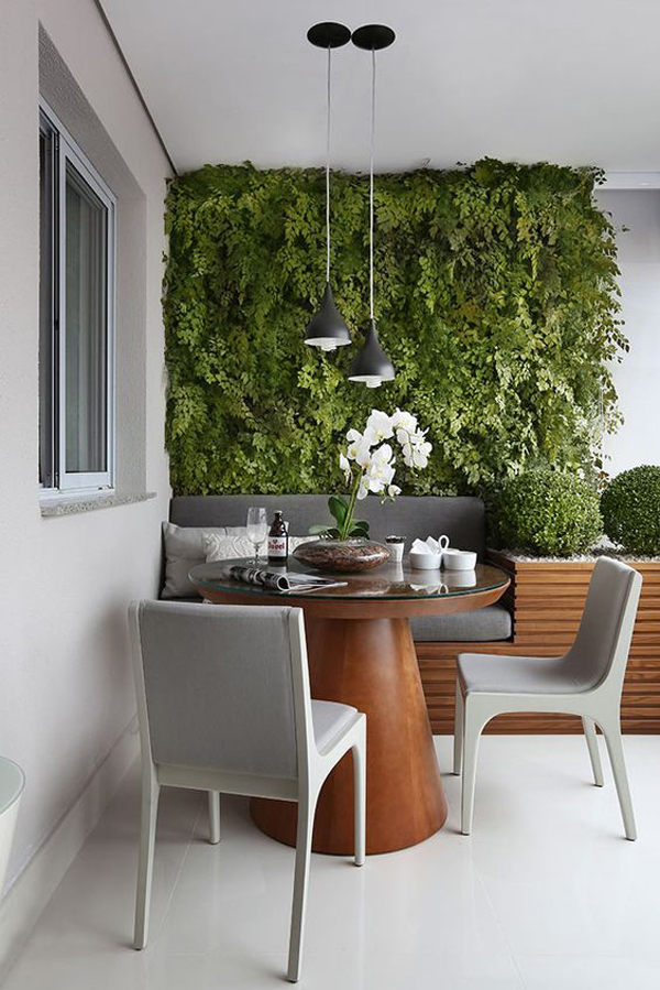 Green Room Garden Design: 20 Fresh And Modern Green Wall To Your Interiors