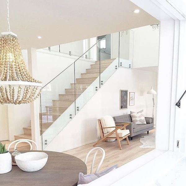 20 Modern Glass Stair Railing Ideas | Home Design And Interior