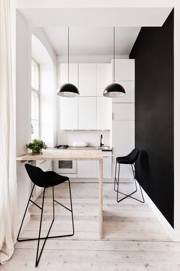 15 Minimalist Interior With Black And Wood Accents Home Design And