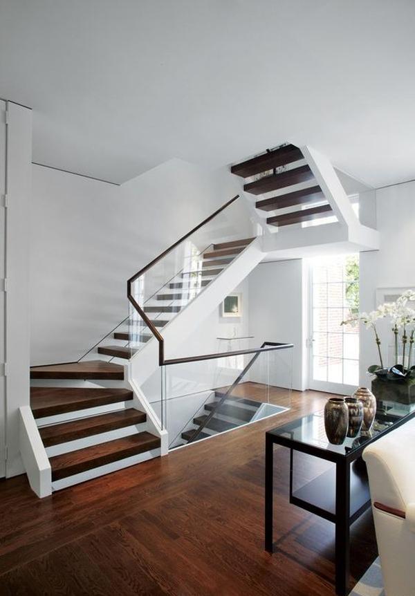 20 Modern Glass Stair Railing Ideas HomeMydesign