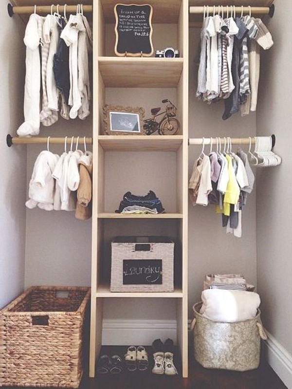 ... Closets With Cool Wall Shelves, Nursery Closets With Wallpaper,  Built In Nursery Closets, Or Hidden Nursery Closets. Hope You Like It, And  Iu0027m Happy To ...