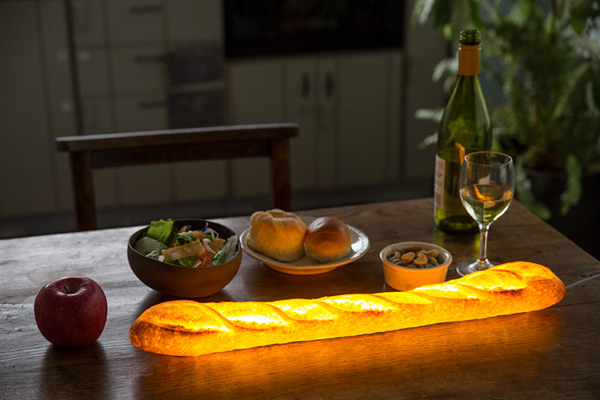 Unique Lamps That Look Delicious From Real Bread Home Design And Interior