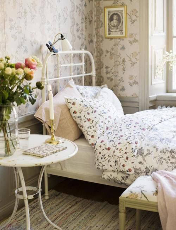 beautiful-vintage-themed-bedroom-decor | Home Design And Interior