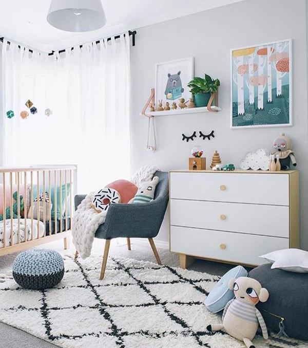 Gender neutral bedroom decor