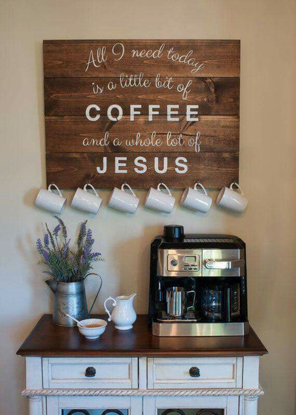 25 Diy Coffee Station Ideas You Need To Copy Homemydesign